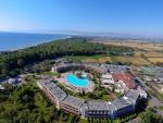 Anteprima villaggio mare dall'alto nicolaus club otium resort