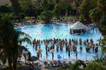 Anteprima panoramica piscina Esperia Palace Hotel
