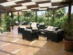 Anteprima terrazza Ristorante La Dolce Vita Nicolaus Club Garden Resort Calabria