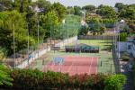 Anteprima campo polivalente tennis basket Nicolaus Club Prime il Gabbiano