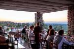 Anteprima cena veranda panorama Biomasseria Lama di Luna