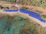 Anteprima Vista aerea spiaggia Nicolaus Club Meditur Village