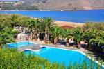 Anteprima piscina e mare Nicolaus Club Maremonte Beach Hotel