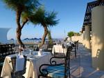 Anteprima esterno ristorante Ancient Eleftherna Nicolaus Club Aquila Rithymna Beach