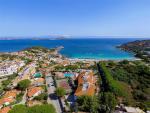 Anteprima villaggio e spiaggia dall'alto nicolaus club prime il cormorano