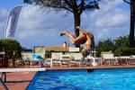 Anteprima tuffo piscina nicolaus club prime il cormorano