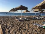 Anteprima ombrelloni spiaggia nicolaus club blue sea beach resort