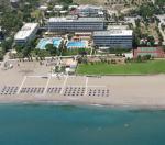 Anteprima vista dall'alto hotel e spiaggia nicolaus club blue sea beach resort