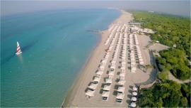 vista aerea mare struttura Robinson Club Apulia