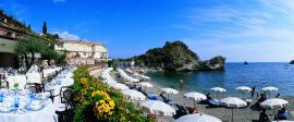 spiaggia Grand Hotel Mazzarò Sea Palace