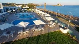 piscina e mare dall'alto  Nicolaus Club Prime Royal Bay