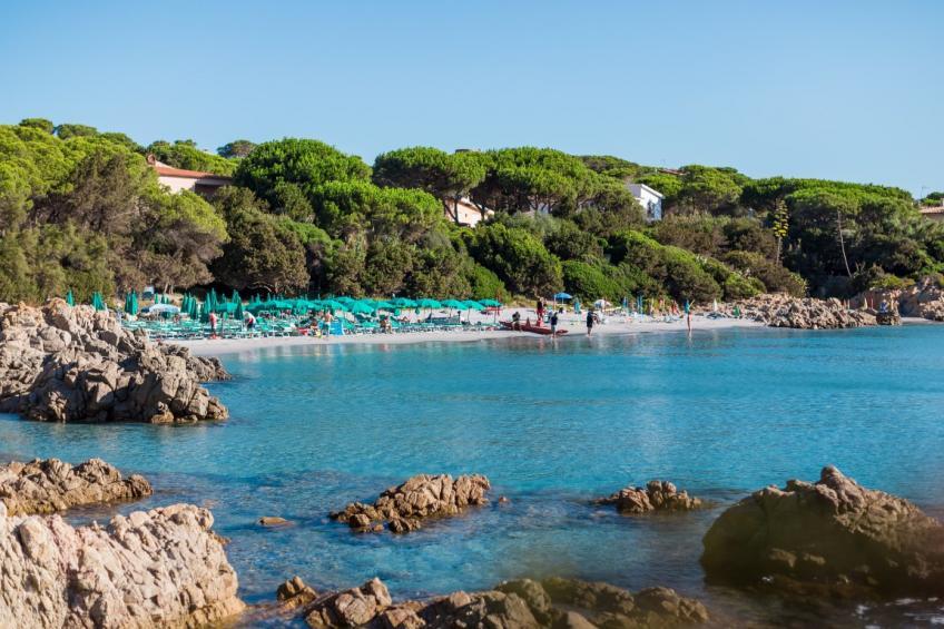 panoramica spiaggia Nicolaus Club Alba Dorata