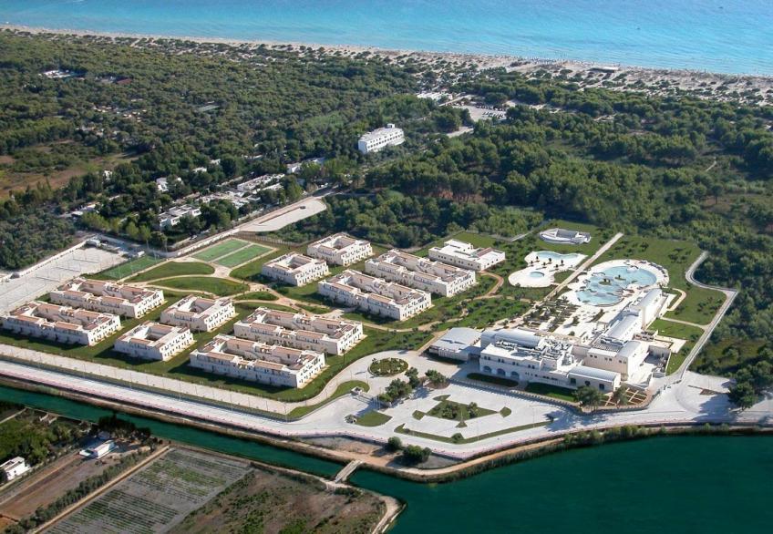foto aerea Iberotel Apulia