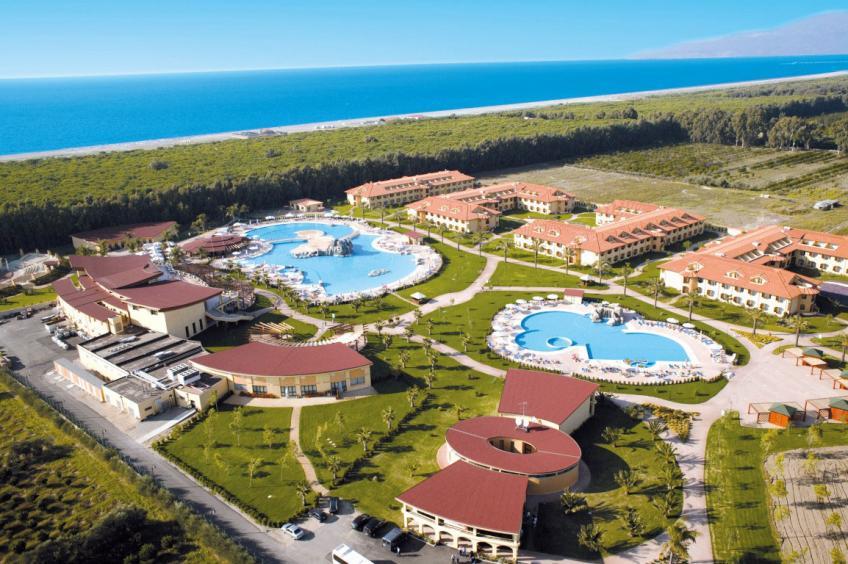 vista aerea Nicolaus Club Garden Resort Calabria