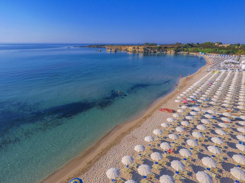Spiaggia attrezzata Nicolaus Club Fontane Bianche