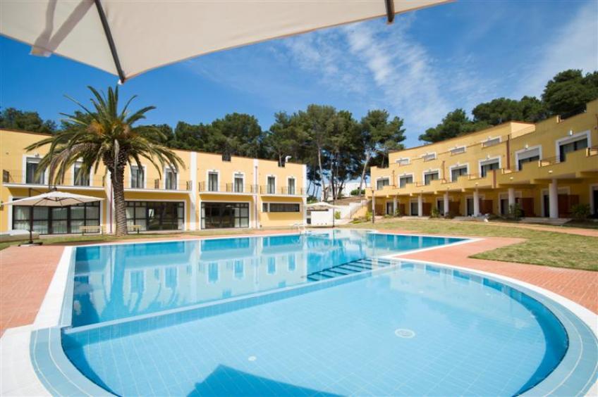 Ombrellone piscina Orchidea Blu Hotel