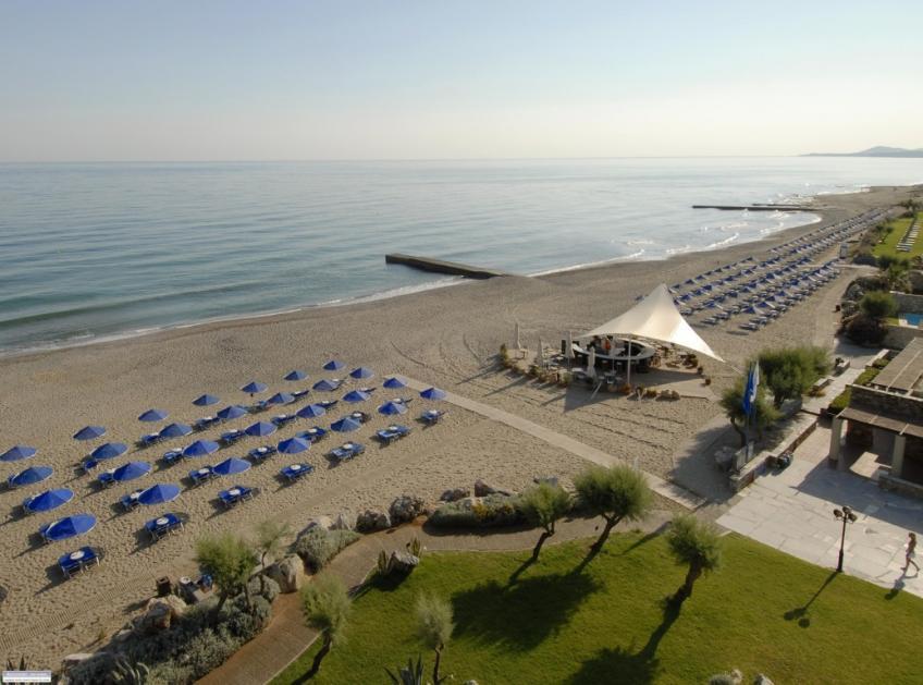 Panoramica spiaggia Nicolaus Club Aquila Rithymna Beach