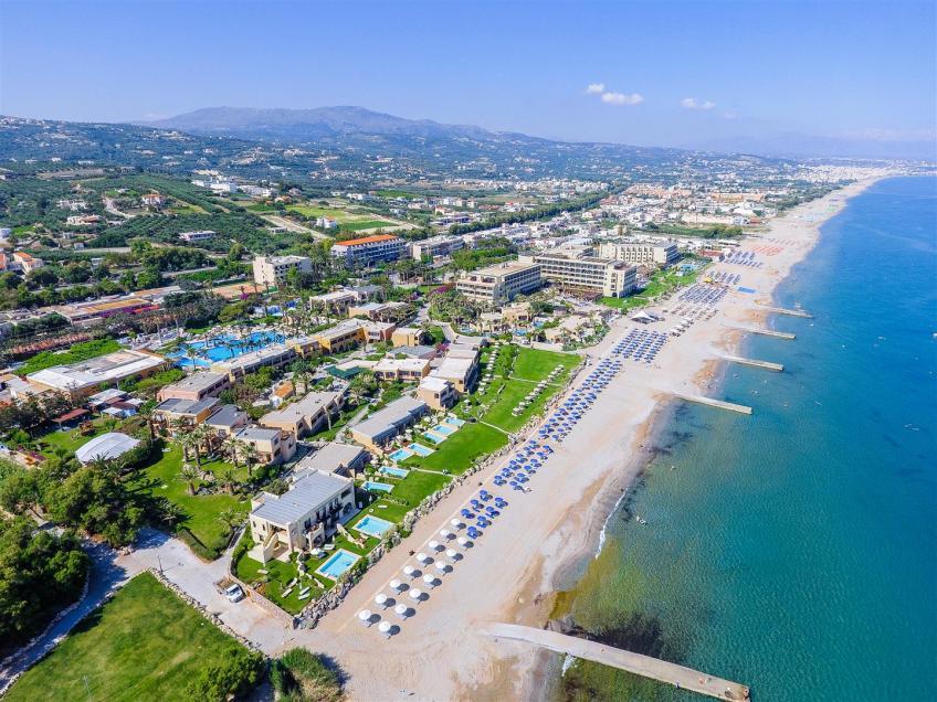 Vista aerea Aquila Rithymna Beach